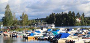 Bollnäs, Långnäs båthamn